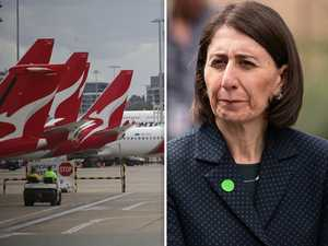 Shots fired by NSW Premier in battle to keep Qantas in Sydney