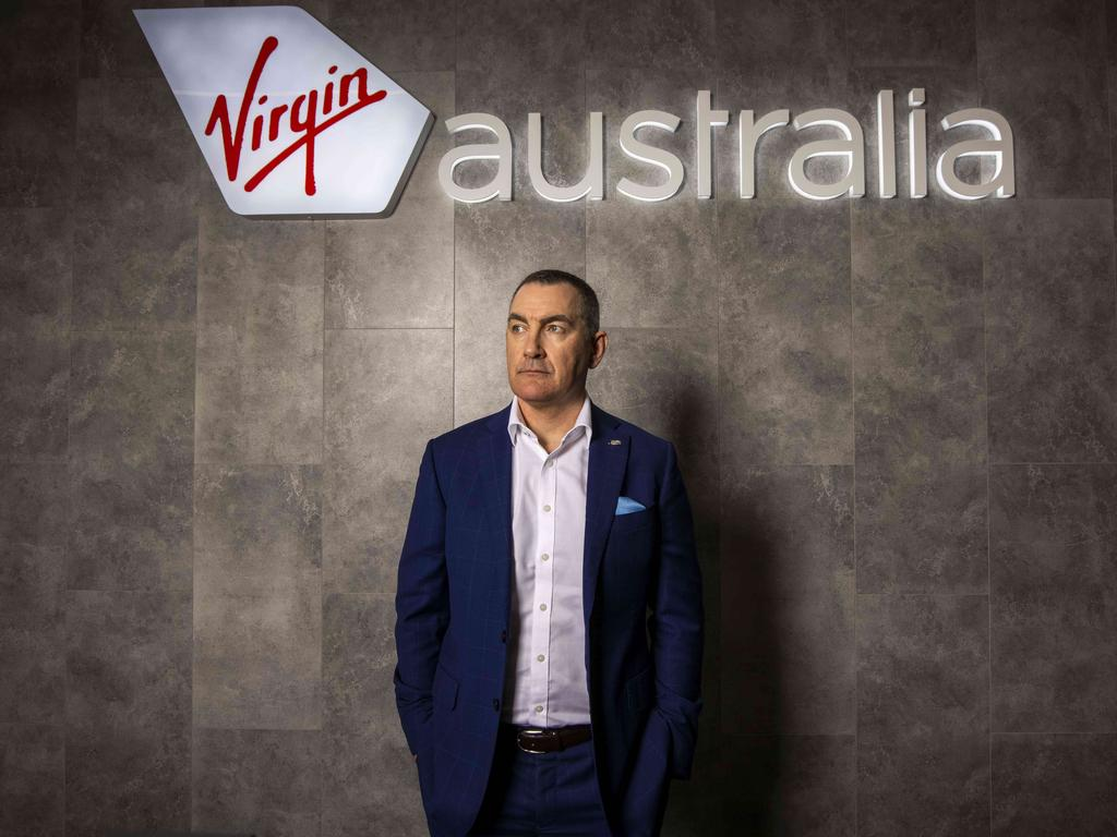 "Virgin Australia CEO Paul Scurrah says the company is facing its ""worst crisis"" ever as hundreds more jobs are on the chopping block. Picture: Photo: Glenn Hunt / The Australian"