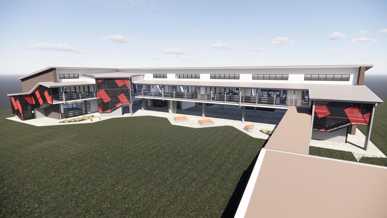 NEW BUILDING: Designtek has shared artist impressions of Parkhurst Primary School's new learning centre.