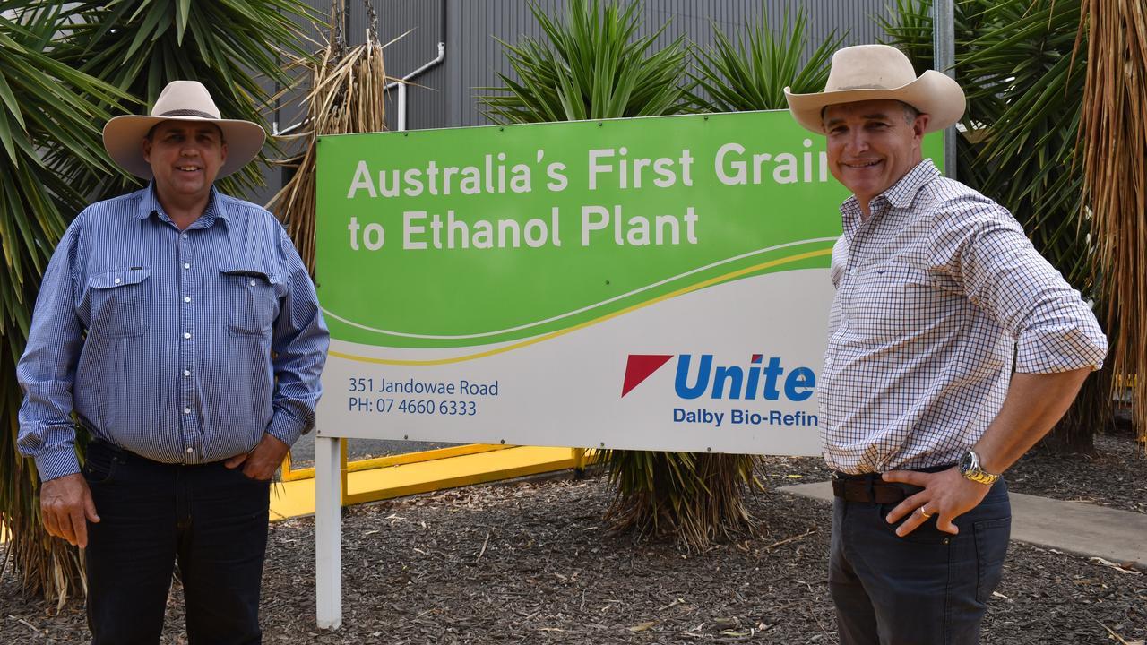 Katter's Australian Party candidate for Warrego Rick Gurnett and KAP State Leader and Member for Traeger Robbie Katter. Picture: Sam Turner