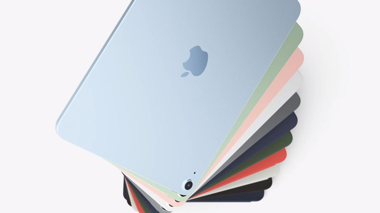 Apple iPad Air 4 has a slate of new colours and a refresh of the iPhone 4-style edges.