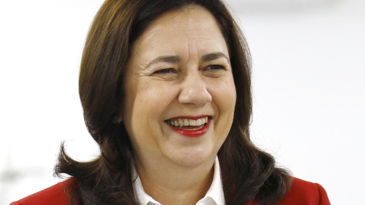 Queensland Premier Annastacia Palaszczuk isn't moving on border closures.