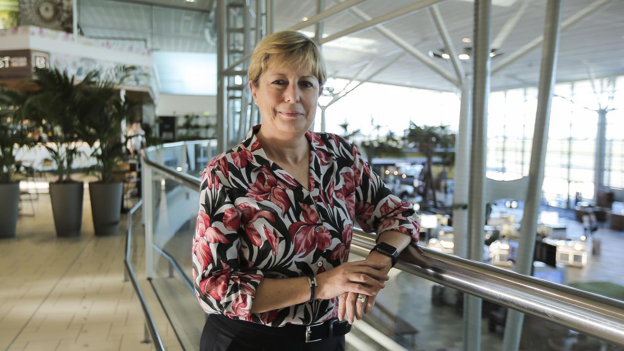 Former airport boss Julieanne Alroe.