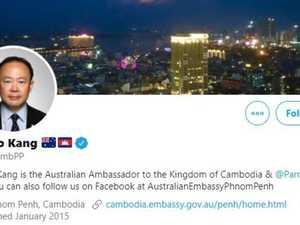 Aussie diplomat eats endangered turtle