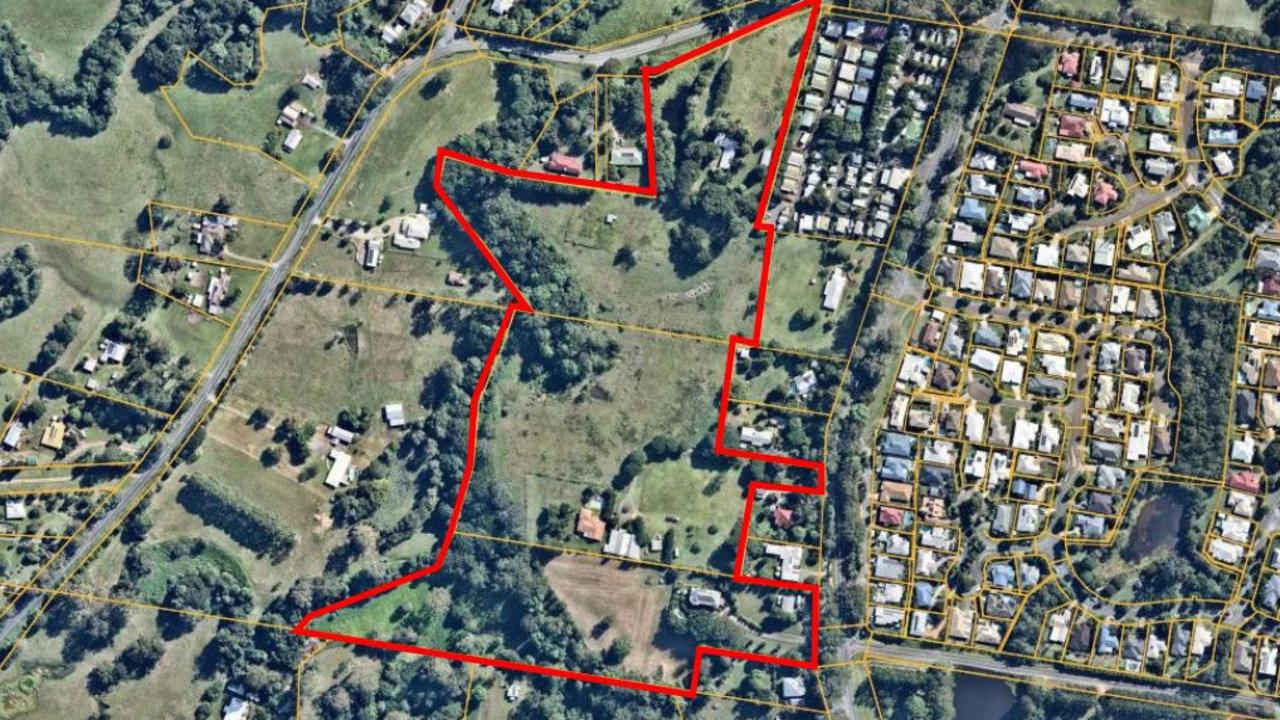An overview of the GemLife Palmwoods site location. Picture: Supplied
