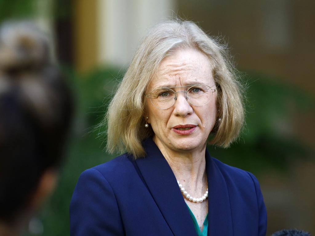 Queensland's chief health officer Dr Jeannette Young is reportedly considering softening the requirements for the state's borders. Picture: NCA NewsWire/Tertius Pickard