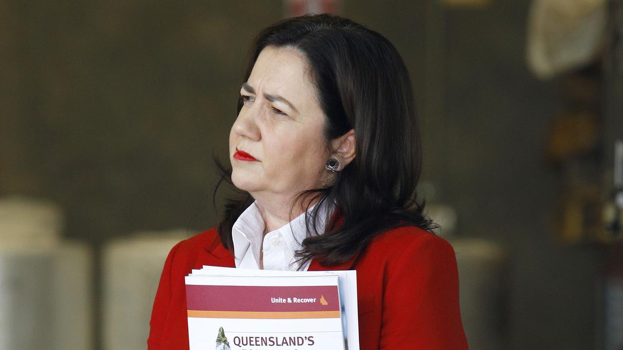 Premier Annastacia Palaszczuk. Picture: NCA NewsWire/Tertius Pickard