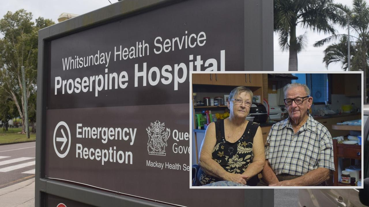 A kidney dialysis service could come to Proserpine Hospital, a development that would be strongly supported by Midge Point residents Navio and Janet Zeglio (inset).