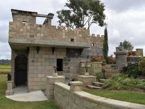 PHOTOS: A castle tucked away in a Mackay backyard