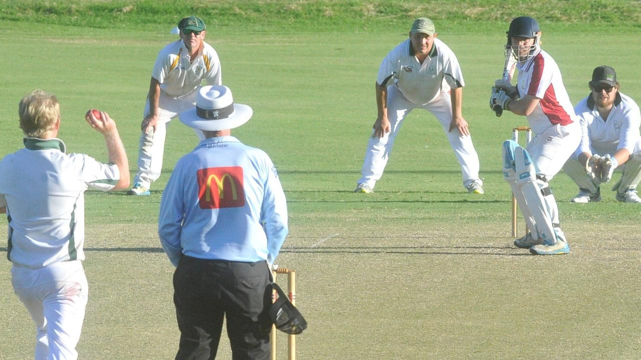 Action from the 2019/20 Clarence River Cricket Association GDSC Premier League minor semi-final clash between Brothers Clocktower Hotel land Jacaranda Hotel Westlawn/GDSC Easts at McKittrick Park on Saturday, 15th March, 2020. Photo Bill North / The Daily Examiner