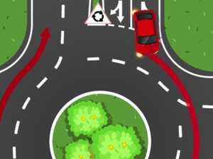 Roundabout road rule stumps drivers