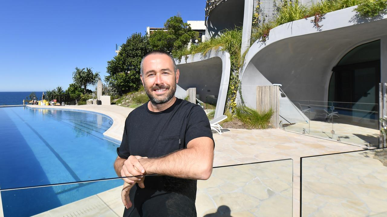 Russian hemp tycoon Evgeny Skigin at home in Seaview Tce. Photo Patrick Woods / Sunshine Coast Daily.