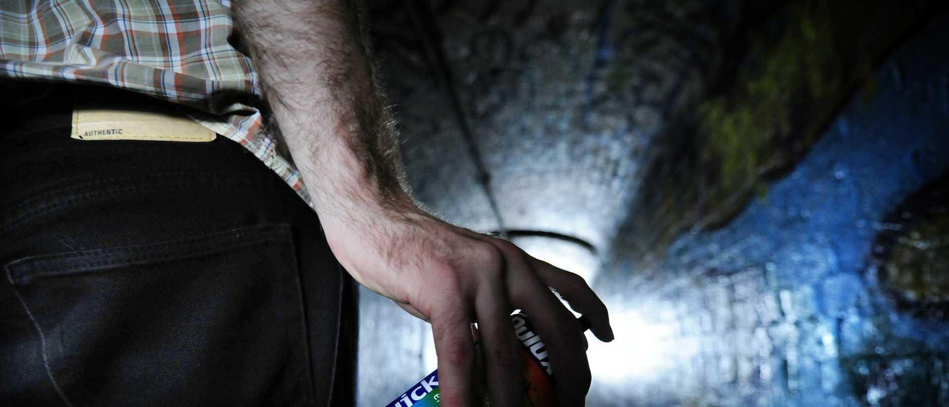 Graffiti Generic 3 November 08 Graffiti Generic Tunnel under rail at Enmore. Photo Phil Rogers