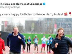 Royals post brutal Harry birthday snub