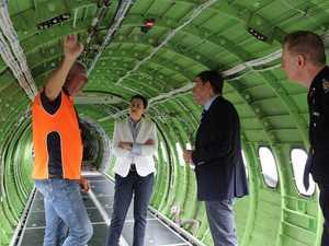 WATCH: New air tanker in action ahead of bushfire season