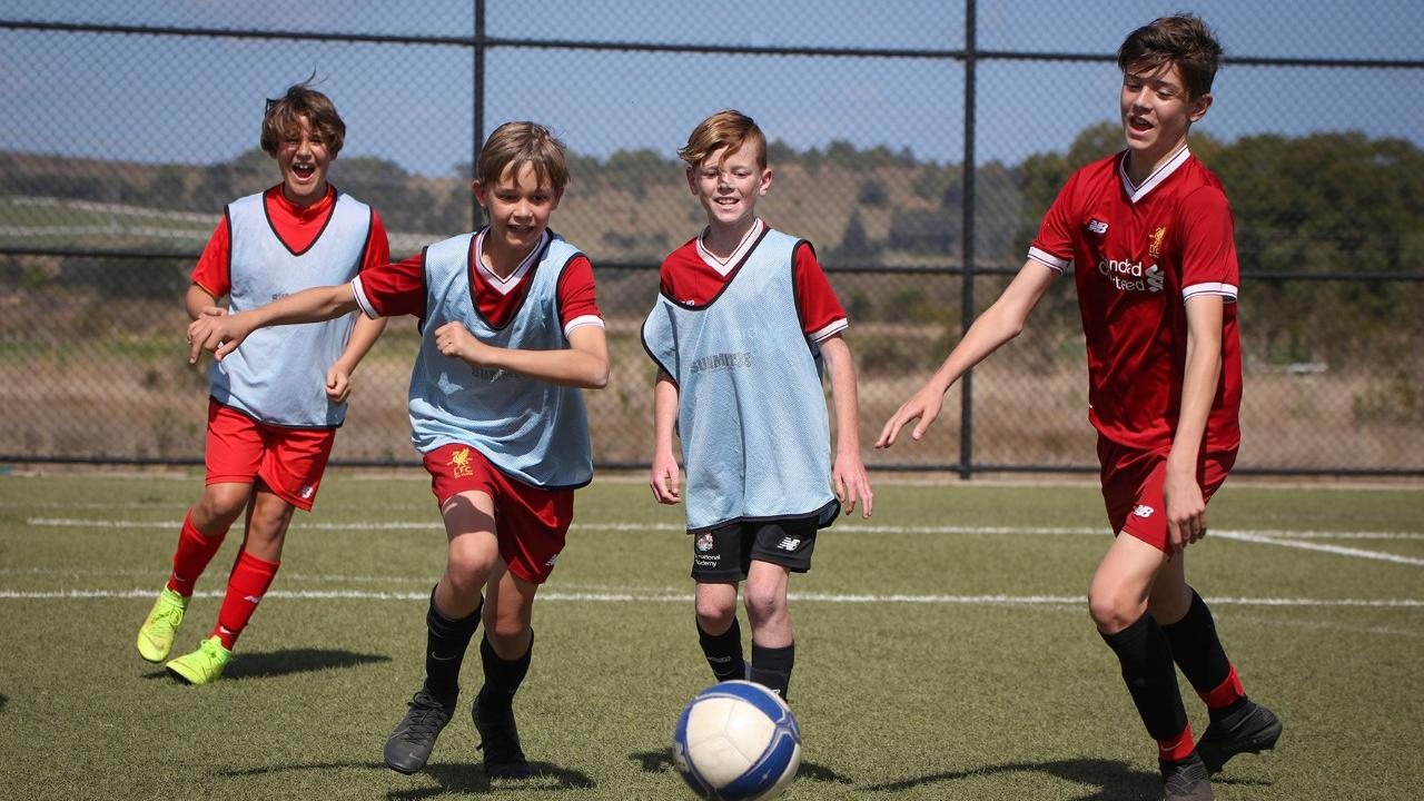 NEW ACADEMY: After the shock closure of the Lismore Academy at SCU the Northern Rivers Football Academy has risen to take its place, with players enjoying a five-a-side game during the border closure.
