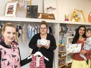 Mums' market meet-up sparks new CBD store