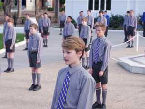 VIDEO: School choir's COVID solution proves irresistible