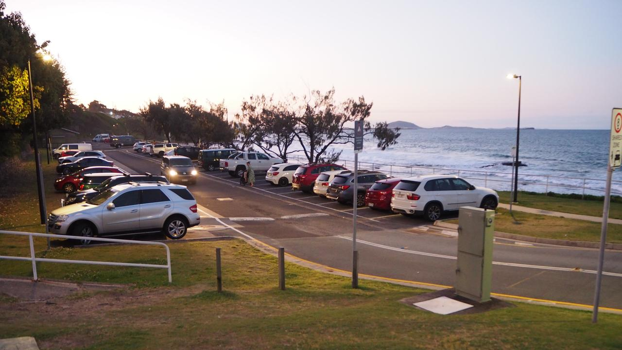 The temporary carpark at Mooloolaba foreshore will be redeveloped into parklands once the Brisbane Rd carpark opens.