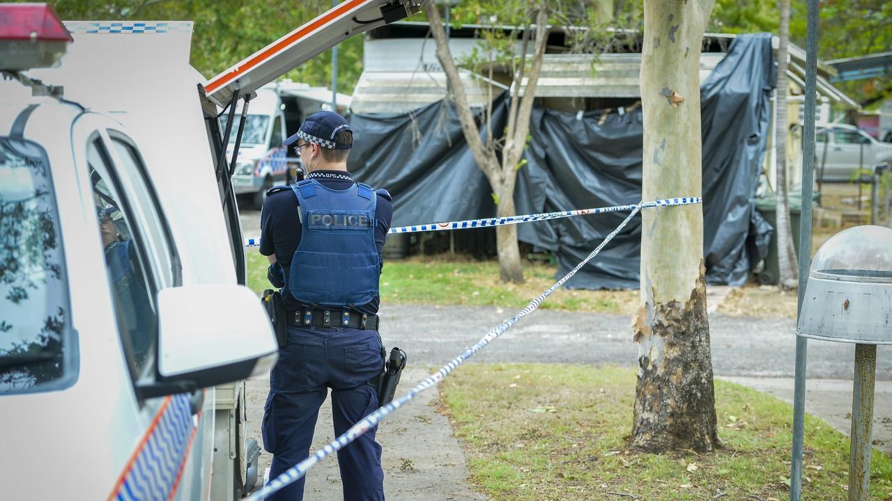 Police are investigating after an alleged double murder took place at Calliope Caravan Park, late on Thursday afternoon, 6 December 2018.