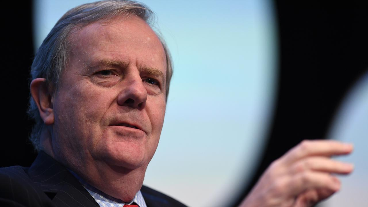Former Treasurer and Chairman of the Future Fund, Peter Costello.