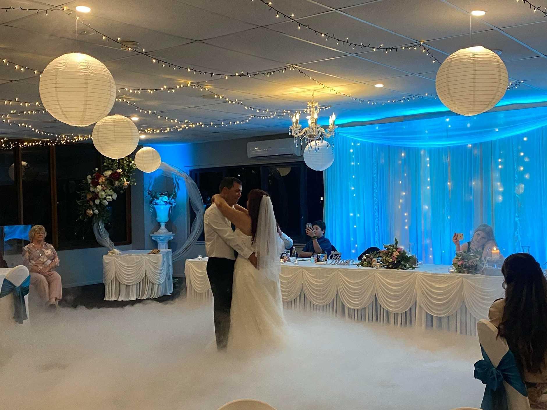 The Waterfront Venue hosting a wedding in Urangan.
