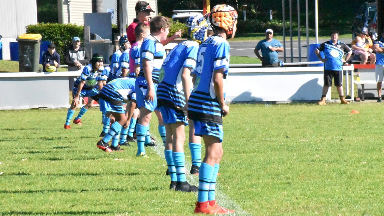 Coffs Comets take on Woolgoolga Junior Seahorses in the under 11's at Geoff King Oval.