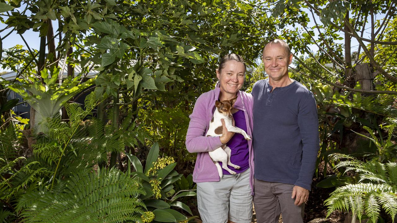 Garden For Good featured gardener Richard and Anne-Maree Lindeman.