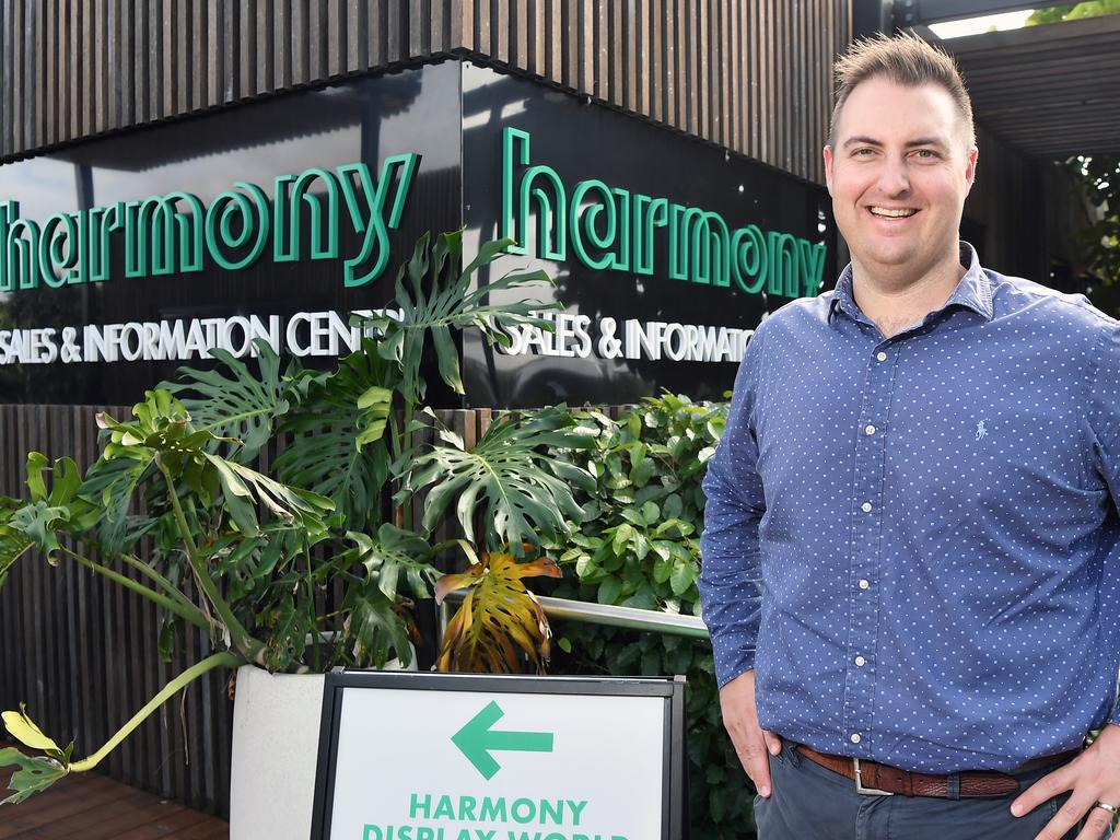 Harmony development manager Anthony Demiris said sales had been astronomical since June. Photo: Patrick Woods