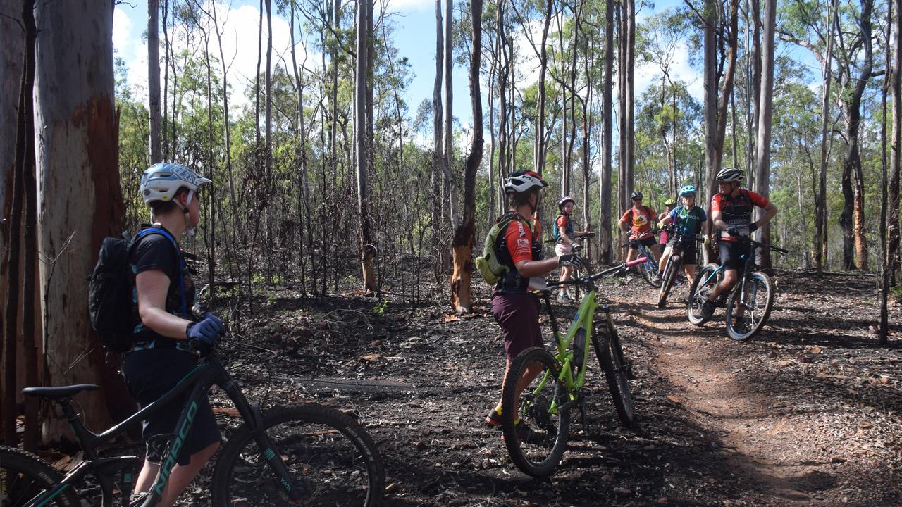 The South Burnett Mountain Bike Club's monthly ride February 16