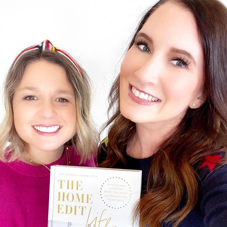 Clea Shearer and Joanna Teplin started The Home Edit in 2015. Picture: Instagram