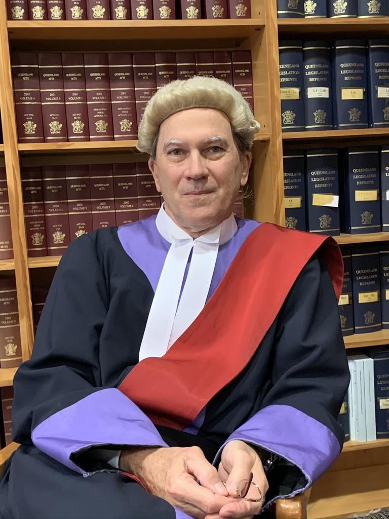 Judge Michael Burnett was the Central Region District Court Judge based in Rockhampton from October 2014 until early September 2020.