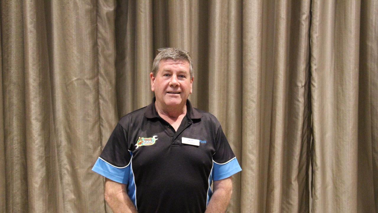 LNP candidate for Gladstone Ron Harding. Picture Rodney Stevens