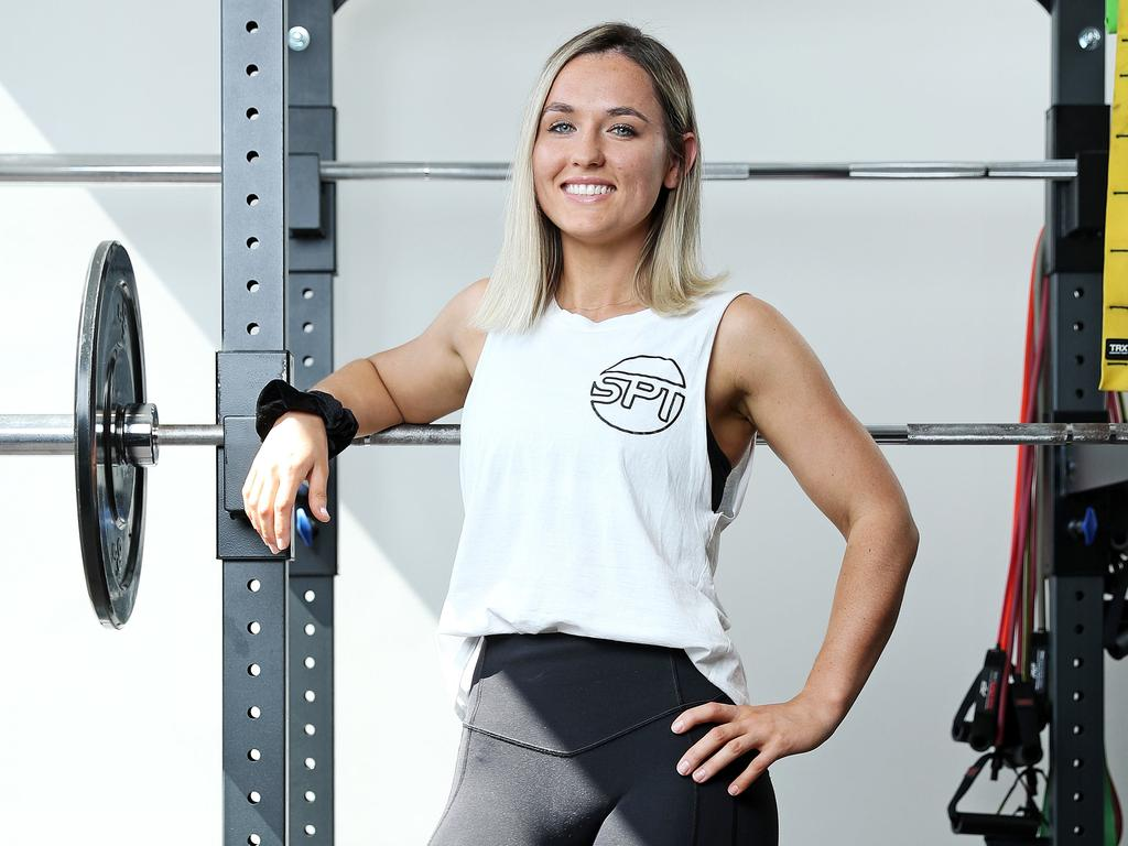Personal Trainer Stef Piper is one of the first to do the course. Picture: Tim Hunter
