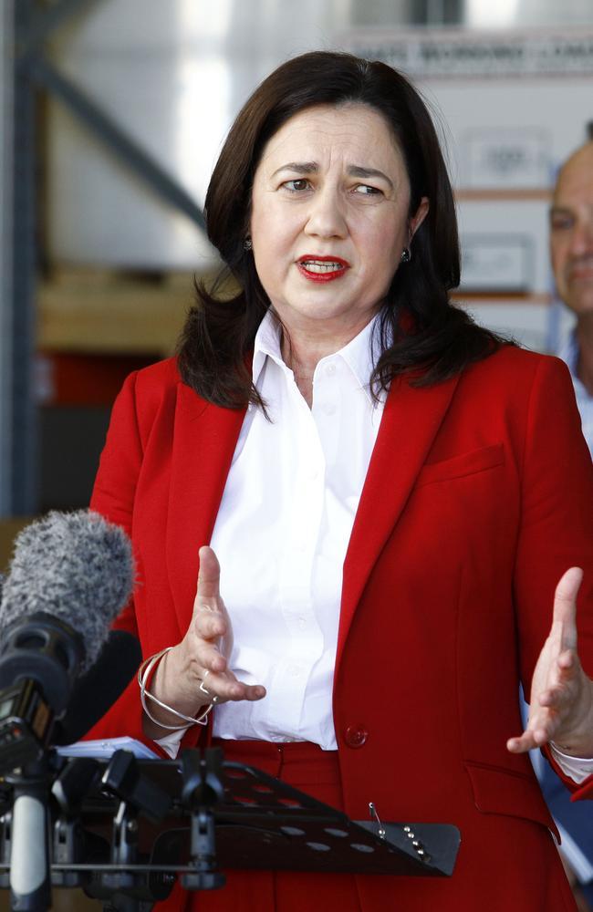 Queensland Premier Annastacia Palaszczuk. Picture: NCA NewsWire/Tertius Pickard