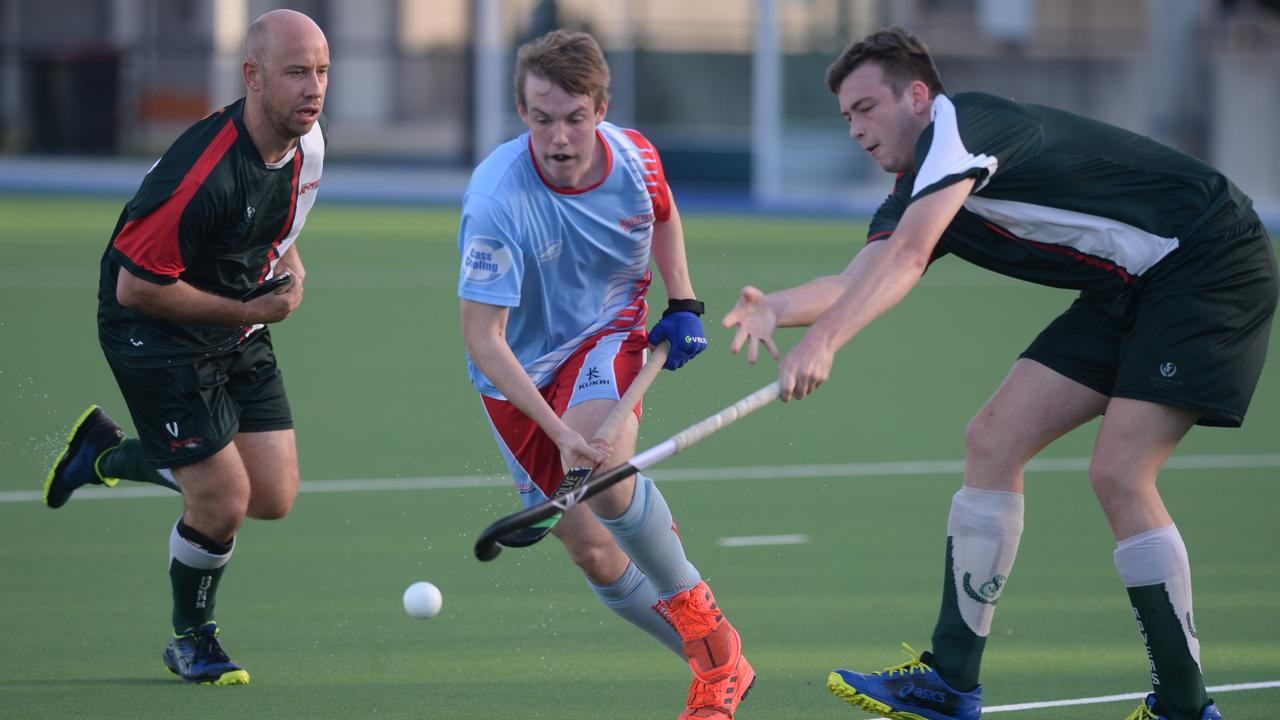 The Division 1 men's hockey grand final between Wanderers and Frenchville Rovers will be livestreamed on Saturday. Photo: Jann Houley