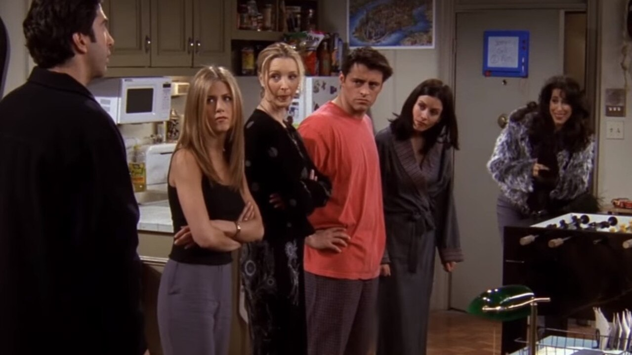 Wheeler's character dipped her toe in and out of Friends for its entire run.