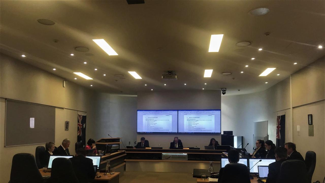 South Burnett Council budget meeting.