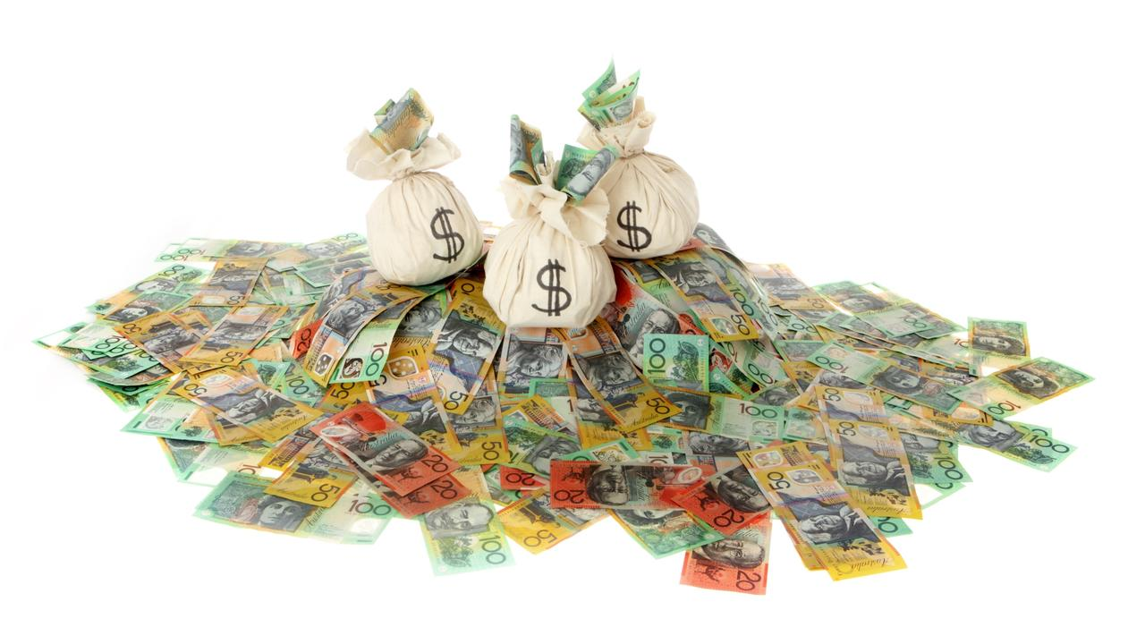 Aussies could have a hidden treasure trove of funds available to them. Picture: istock