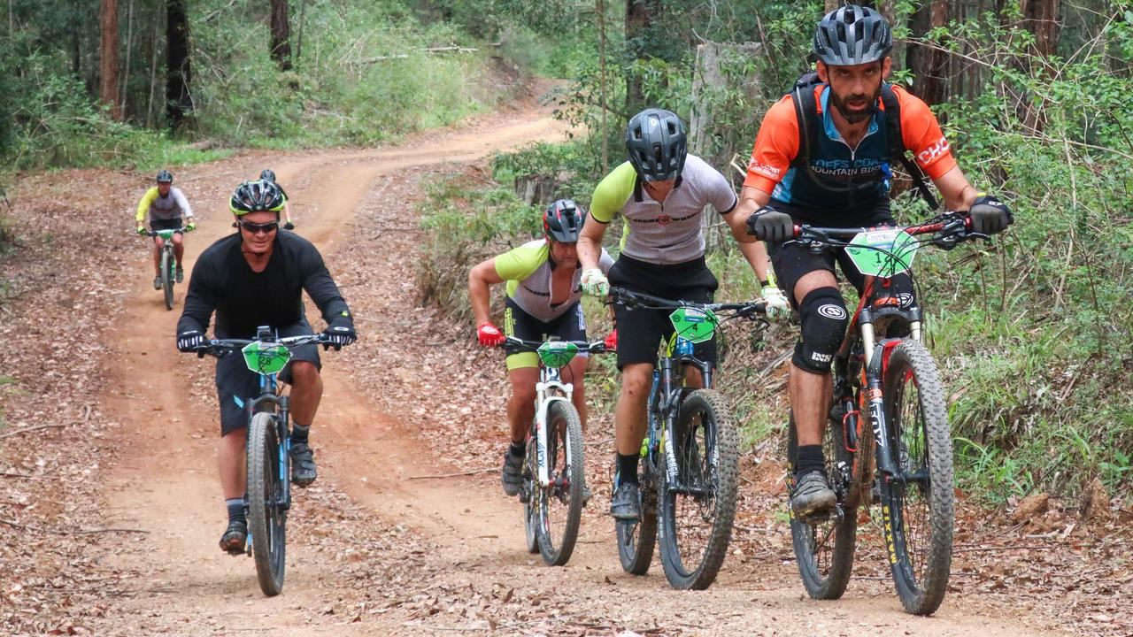 The 2017 Trailstar Woolgoolga Enduro mountainbike bike event.. 06 NOV 2017