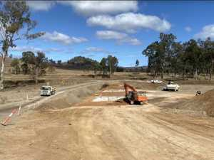 Progress: Where the Gladstone-Monto road works are at