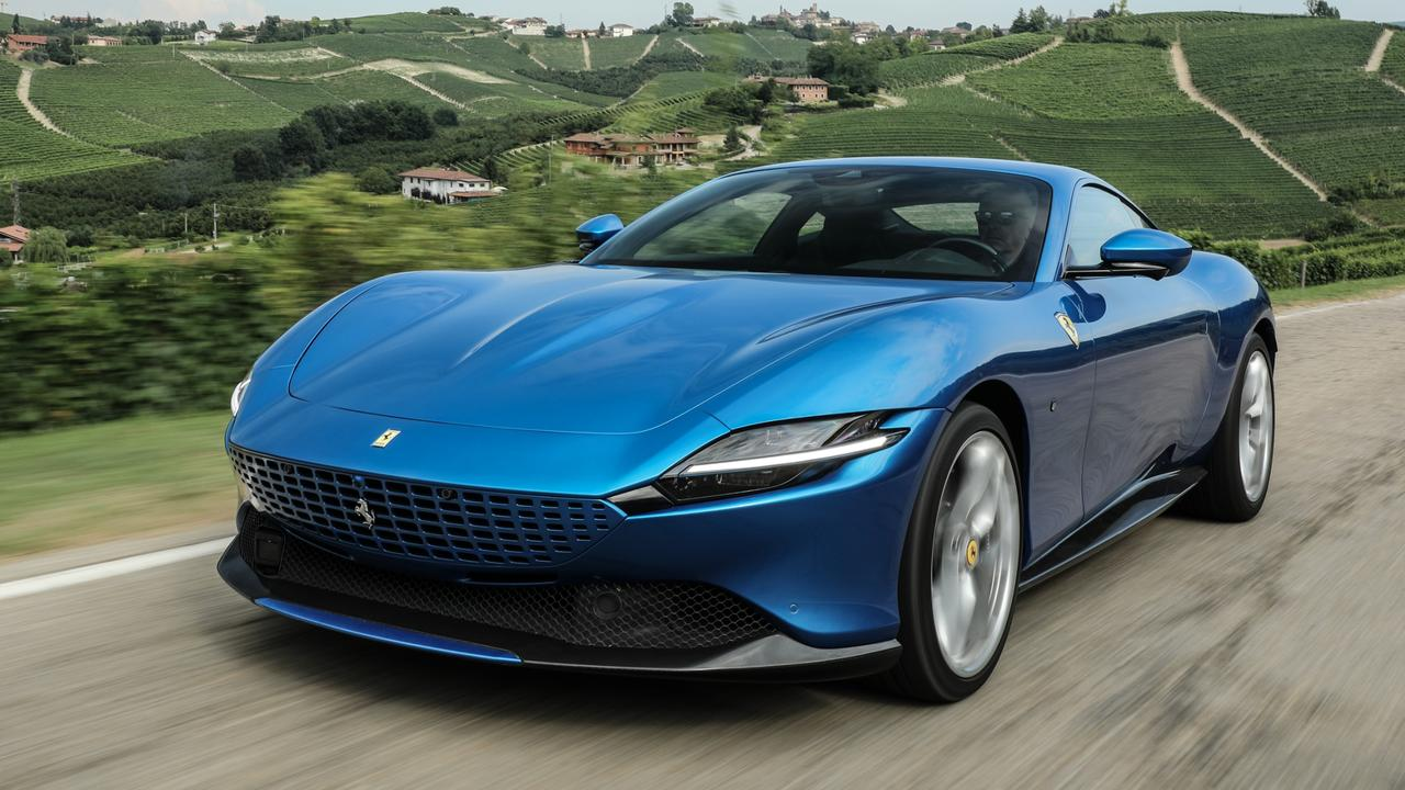 Ferrari's new car is a Grand Tourer rather than a sports car, but is still insanely quick.