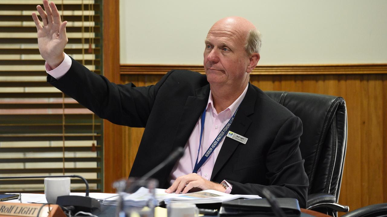 Fraser Coast Regional Council – Cr. Rolf Light.