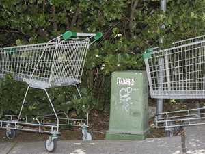 Councils should crack down on abandoned shopping trolleys