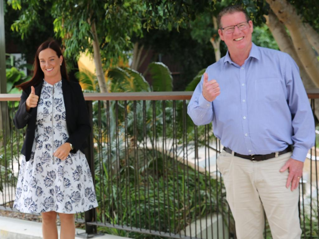 Member for Keppel Brittany Lauga and Member for Rockhampton Barry O'Rourke are not sending out reply paid envelopes to harvest CQ voter's data.