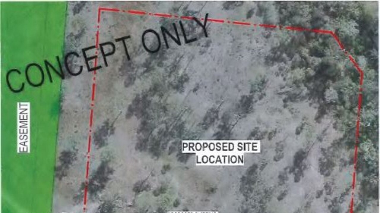 Approved site for CQ Gel Blasters sporting field in Burua.