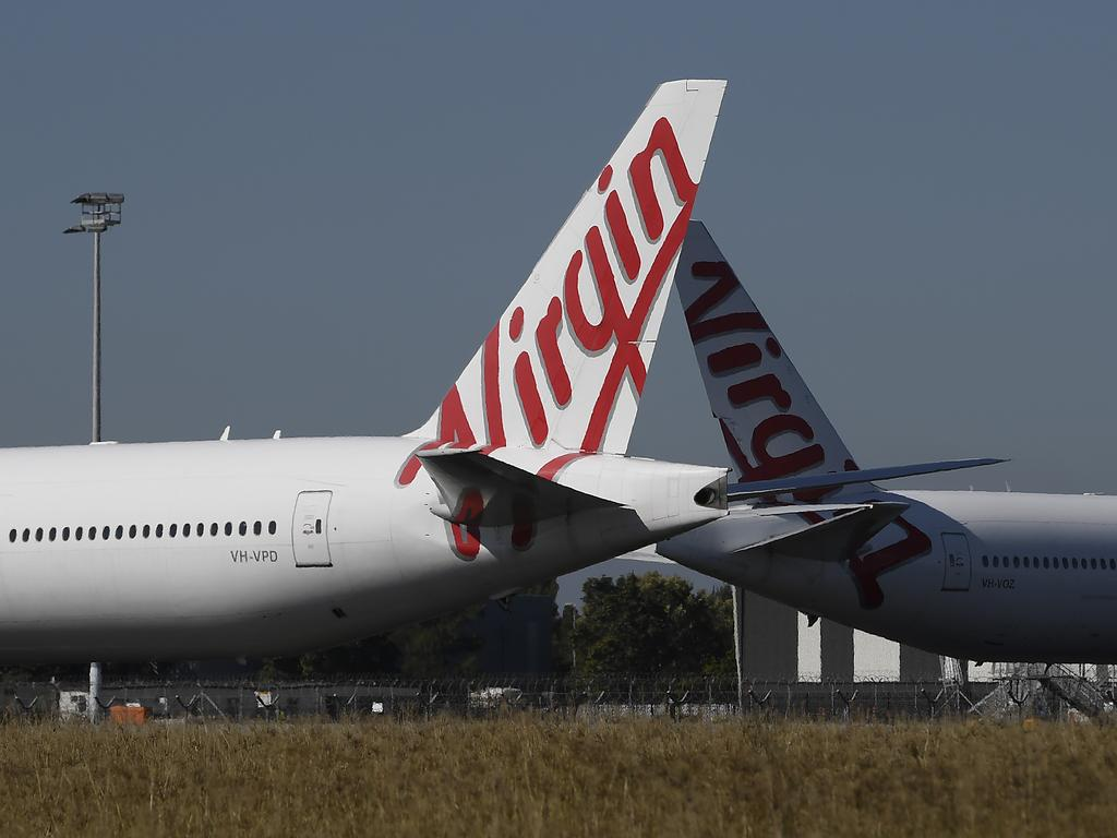 Virgin Australia has emerged from administration with a new owner, US private equity outfit Bain Capital. Picture: Albert Perez/Getty Images