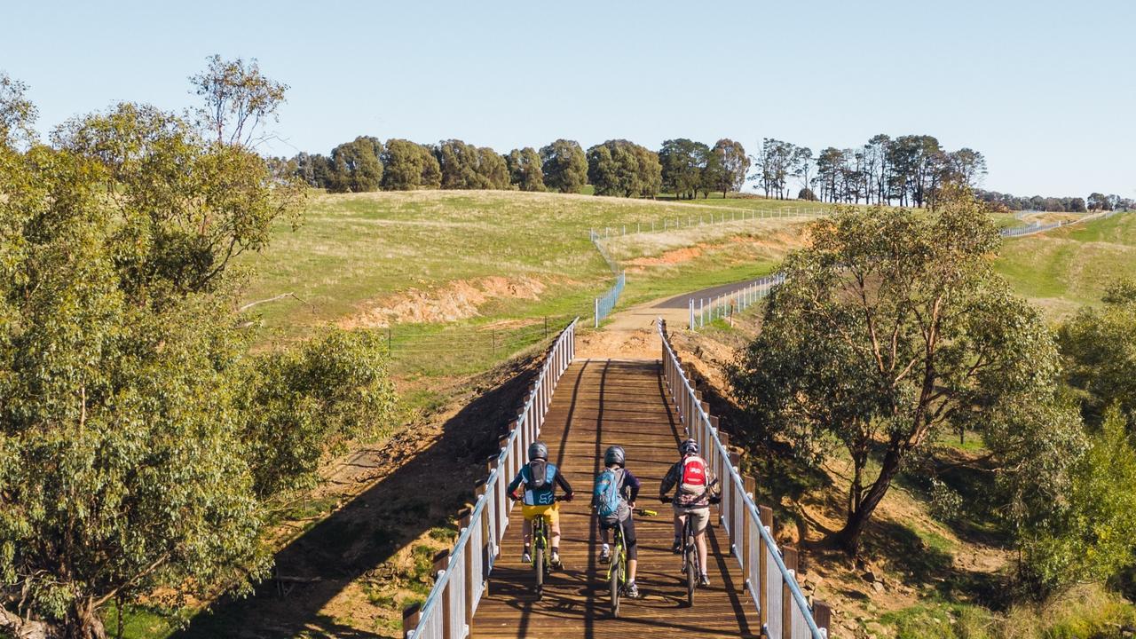 The Tumbarumba to Rosewood Rail Trail opened in April 2020.