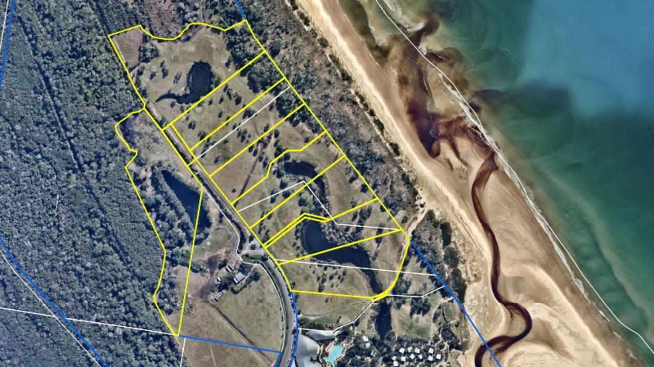 A planning proposal is seeking rezoning of land near Elements of Byron at Belongil.