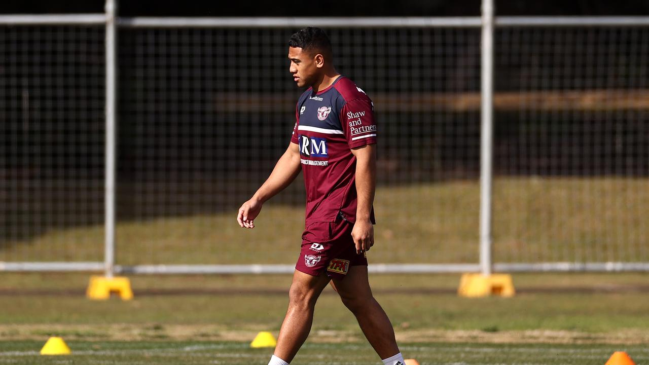 Albert Hopoate comes from a long line of NRL players.